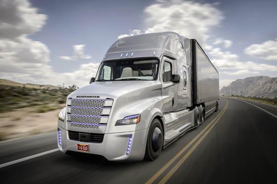 Freightliner; Daimler Trucks; Daimler; Daimler Trucks North America; DTNA; autonomous driving; autonomous; autonomous vehicle; licensed; street legal; autonomes Fahren; autonom; zugelassen; Nevada; Las Vegas; USA; Inspiration Truck; Inspiration